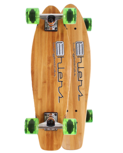 """26""""X 7"""" Lil,boo Mini Bamboo Kicktail Complete or Deck"""