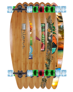 """36"""" 40"""" 44"""" BAMBOO PINTAIL COMPLETE OR DECK"""